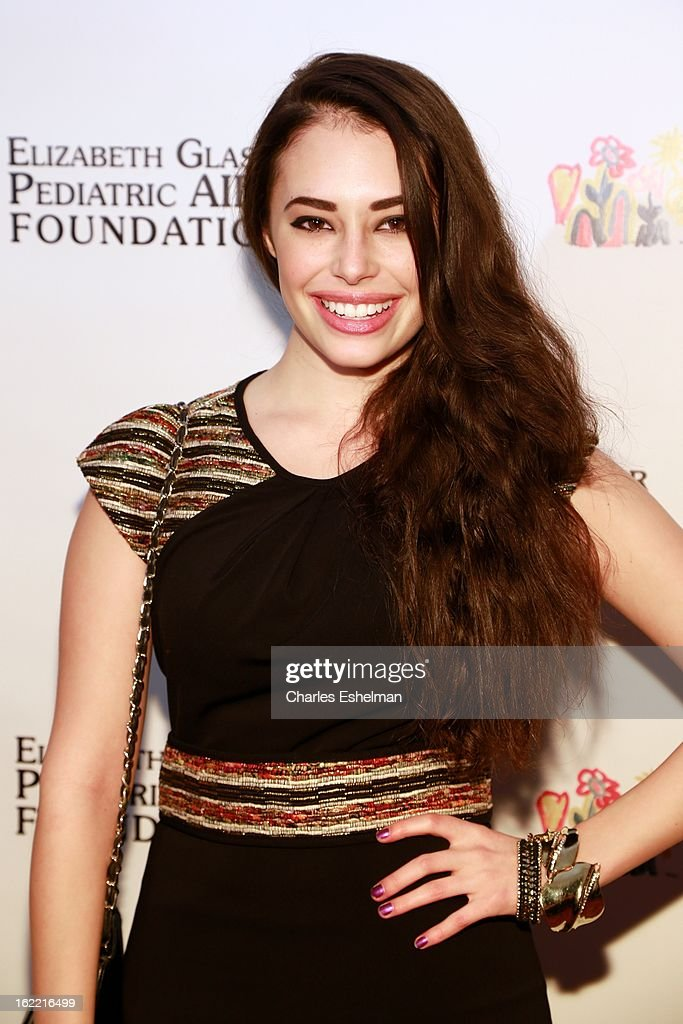 Actress <a gi-track='captionPersonalityLinkClicked' href=/galleries/search?phrase=Chloe+Bridges&family=editorial&specificpeople=5498869 ng-click='$event.stopPropagation()'>Chloe Bridges</a> attends the 2013 Elizabeth Glaser Pediatric AIDS Foundation awards dinner at Mandarin Oriental Hotel on February 20, 2013 in New York City.