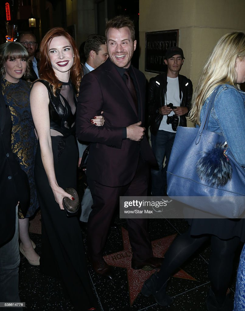 Actress Chloe Dykstra and actor Robert Kazinsky are seen on June 6 2016 in Los Angeles California