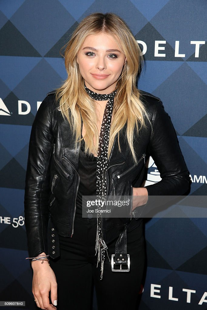 Actress Chloe Grace Moretz attends Delta Air Lines Toasts GRAMMY Weekend with 'Sites and Sounds,' A Private Performance and Interactive Evening with GRAMMY Nominated Artist Leon Bridges, at NeueHouse Hollywood on February 12, 2016 in Los Angeles, California.