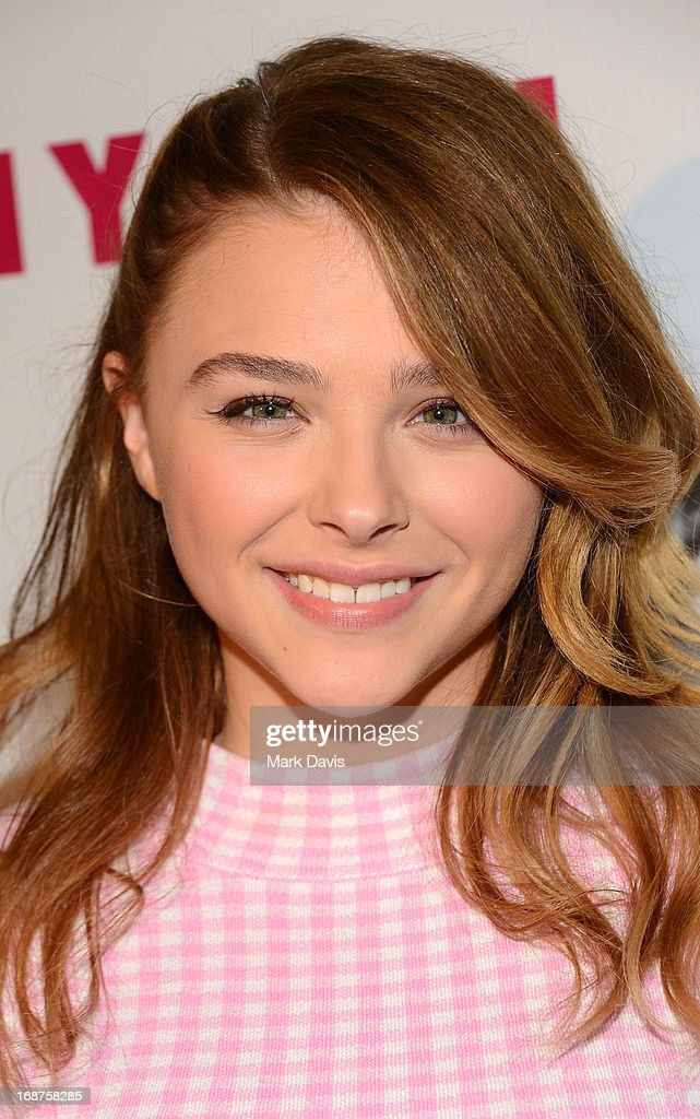 Actress Chloe Grace Moretz attends NYLON And Onitsuka Tiger Celebrate The Annual May Young Hollywood Issue at The Roosevelt Hotel on May 14, 2013 in Hollywood, California.