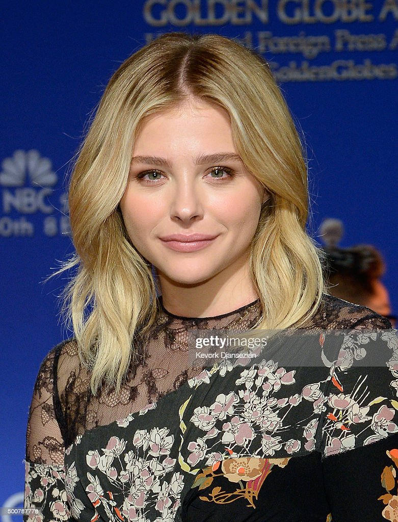 Actress Chloe Grace Moretz attends the 73rd Annual Golden Globe Awards Nominations Announcement at The Beverly Hilton Hotel on December 10, 2015 in Beverly Hills, California.