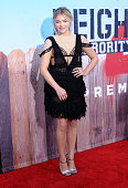 Actress Chloe Grace Moretz attends the American Premiere of Universal Pictures' 'Neighbors 2 Sorority Rising' at Regency Village Theatre on May 16...