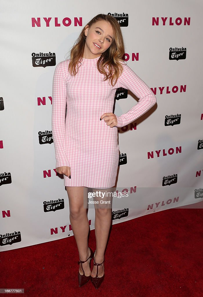Actress Chloe Grace Moretz attends the NYLON Magazine Annual May Young Hollywood Issue Party at The Roosevelt Hotel on May 14, 2013 in Hollywood, California.
