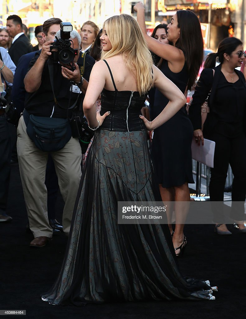 Actress Chloe Grace Moretz attends the Premiere of New Line Cinema's and Metro-Goldwyn-Mayer Pictures' 'If I Stay' at TCL Chinese Theatre on August 20, 2014 in Hollywood, California.