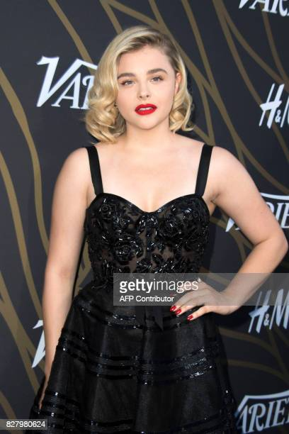 Actress Chloe Grace Moretz attends Variety's Power of Young Hollywood Event on August 8 in Hollywood California / AFP PHOTO / VALERIE MACON
