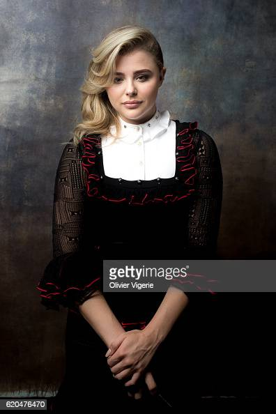 Actress Chloe Grace Moretz is photographed for Self Assignment on September 3 2016 in Deauville France
