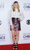 Actress Chloe Grace Moretz poses in the press room at The 41st Annual People's Choice Awards at Nokia Theatre LA Live on January 7 2015 in Los...
