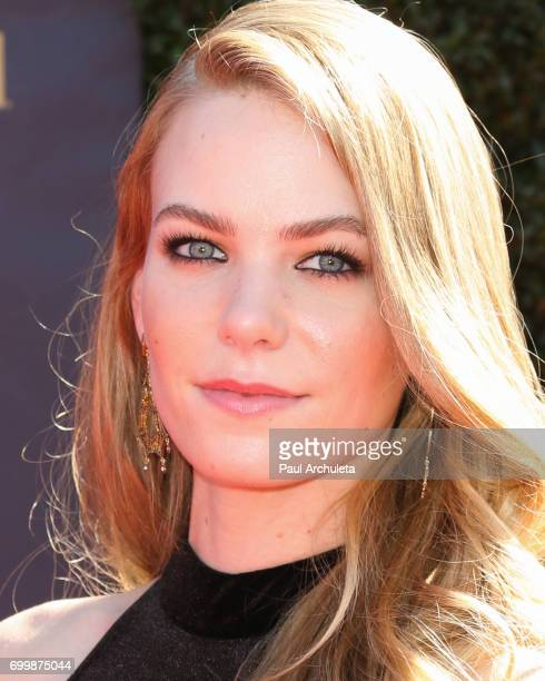 Actress Chloe Lanier attends the 44th annual Daytime Emmy Awards at The Pasadena Civic Auditorium on April 30 2017 in Pasadena California