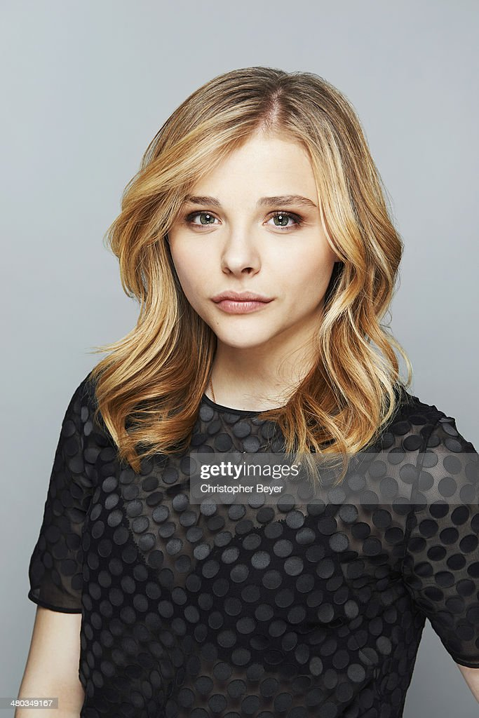 Actress Chloe Moretz is photographed for Entertainment Weekly Magazine on January 25, 2014 in Park City, Utah.
