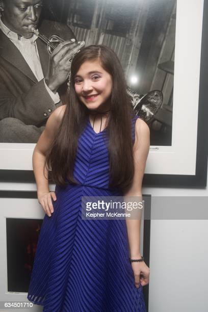 Actress Chloe Noelle attends Morrison Hotel Gallery 'Winners' exhibit celebrating GRAMMY and Oscar Stars at Morrison Hotel Gallery on February 9 2017...