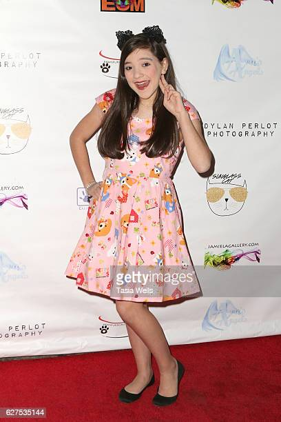 Actress Chloe Noelle attends PAWS FURR CAUSES Benefit for Lifelineforpets on December 3 2016 in Los Angeles California