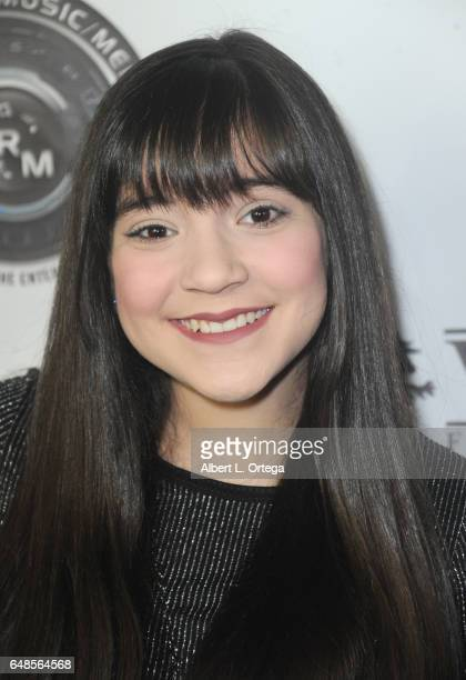 Actress Chloe Noelle attends Talin Silva's EP Release Party And Concert held at Busby's East on March 3 2017 in Los Angeles California