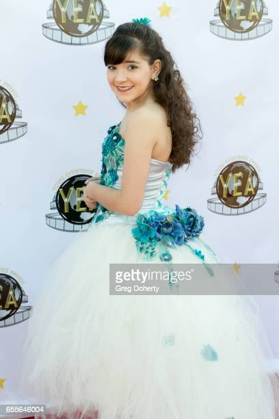 Actress Chloe Noelle attends the 2nd Annual Young Entertainer Awards at The Globe Theatre on March 19 2017 in Universal City California