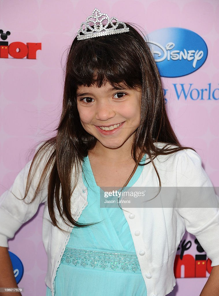 Actress Chloe Noelle attends the premiere of 'Sofia The First: Once Upon a Princess' at Walt Disney Studios on November 10, 2012 in Burbank, California.