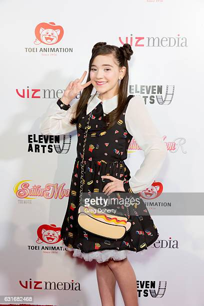 Actress Chloe Noelle attends the Theatrical Premiere Of Viz Media's 'Sailor Moon R The Movie' at The Theatre at Ace Hotel on January 13 2017 in Los...