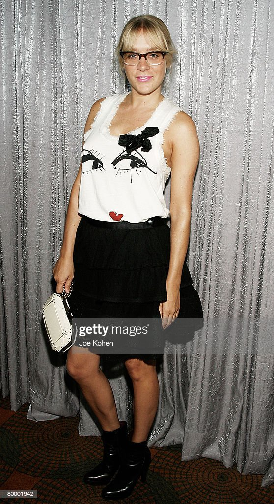 Actress Chloe Sevigny arrives at the FIT Annual Couture Council Award for Artistry of Fashion on Sep 5 2007 in New York City