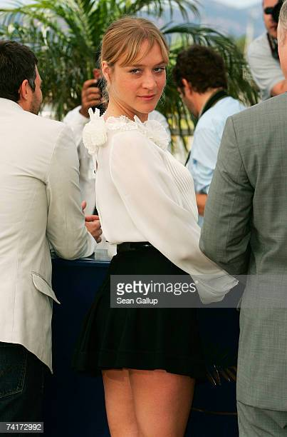 Actress Chloe Sevigny attends a photocall promoting the movie 'Zodiac' during the 60th International Cannes Film Festival on May 17 2007 in Cannes...