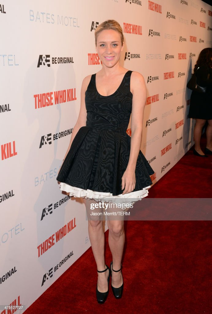 Actress <a gi-track='captionPersonalityLinkClicked' href=/galleries/search?phrase=Chloe+Sevigny&family=editorial&specificpeople=201550 ng-click='$event.stopPropagation()'>Chloe Sevigny</a> attends A&E's 'Bates Motel' and 'Those Who Kill' Premiere Party at Warwick on February 26, 2014 in Hollywood, California.