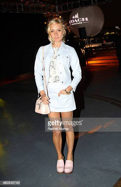 Actress Chloe Sevigny attends Coach Backstage Rodeo Drive on December 11 2014 in Beverly Hills California