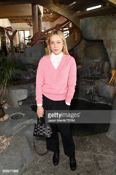 Actress Chloe Sevigny attends Glamour's Women Rewriting Hollywood Lunch at Sundance Hosted By Lena Dunham Jenni Konner and Cindi Leive on January 26...