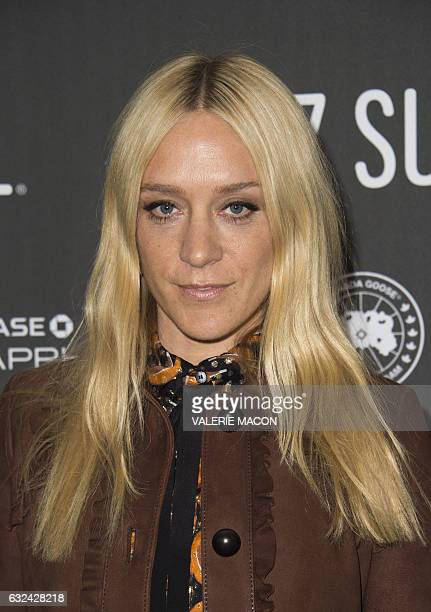 Actress Chloe Sevigny attends 'Golden Exits' Premiere at Library Center Theatre during the 2017 Sundance Film Festival in Park City Utah January 22...