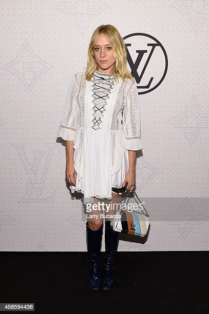 Actress Chloe Sevigny attends Louis Vuitton Monogram celebration at Museum of Modern Art on November 7 2014 in New York City