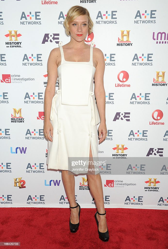 Actress Chloe Sevigny attends the A+E Networks 2013 Upfront at Lincoln Center on May 8, 2013 in New York City.