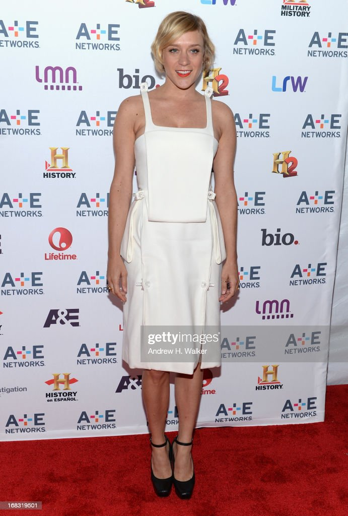 Actress <a gi-track='captionPersonalityLinkClicked' href=/galleries/search?phrase=Chloe+Sevigny&family=editorial&specificpeople=201550 ng-click='$event.stopPropagation()'>Chloe Sevigny</a> attends the A+E Networks 2013 Upfront on May 8, 2013 in New York City.
