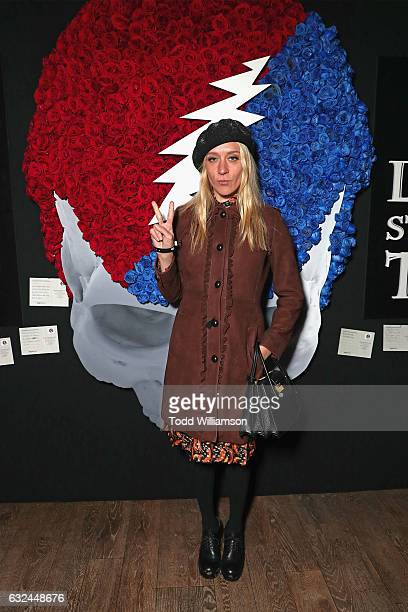 Actress Chloe Sevigny attends the Amazon Studios celebration of 'Long Strange Trip' at the 2017 Sundance Film Festival featuring a performance by...