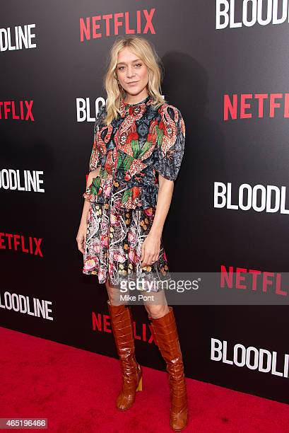 Actress Chloe Sevigny attends the 'Bloodline' New York Series Premiere at SVA Theater on March 3 2015 in New York City