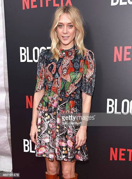 Actress Chloe Sevigny attends the 'Bloodline' Series New York Premiere at SVA Theater on March 3 2015 in New York City