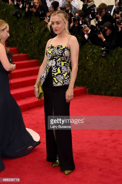 Actress Chloe Sevigny attends the 'Charles James Beyond Fashion' Costume Institute Gala at the Metropolitan Museum of Art on May 5 2014 in New York...