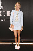 Actress Chloe Sevigny attends the Coach Backstage Rodeo Drive store opening celebration at Coach Boutique on December 11 2014 in Beverly Hills...