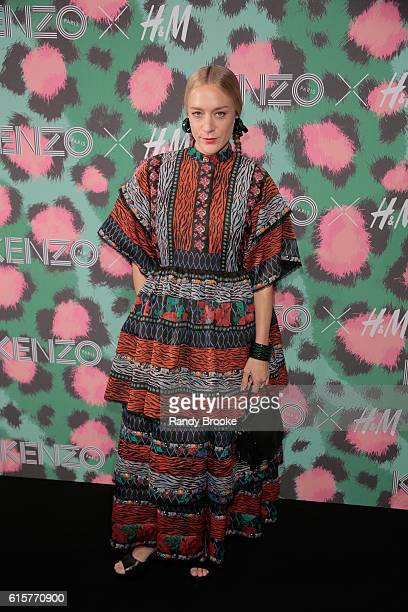 Actress Chloe Sevigny attends the KENZO x HM Red Carpet Arrivals at Pier 36 on October 19 2016 in New York City