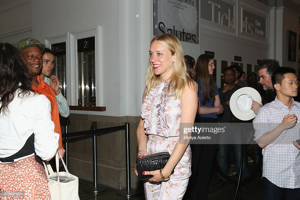 Actress Chloe Sevigny (C) attends the 'Kids' 20th Anniversary Screening during BAMcinemaFest 2015 at BAM Peter Jay Sharp Building on June 25, 2015 in New York City.