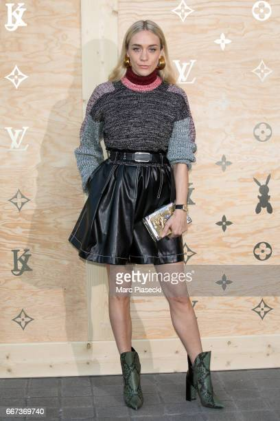 Actress Chloe Sevigny attends the 'Louis Vuitton Masters a collaboration with Jeff Koons' dinner at Musee du Louvre on April 11 2017 in Paris France