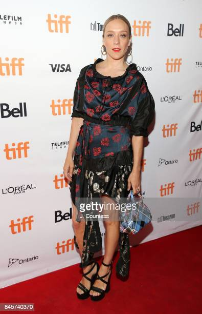 Actress Chloe Sevigny attends the premiere of 'Lean On Pete' during the 2017 Toronto International Film Festival at The Elgin on September 11 2017 in...