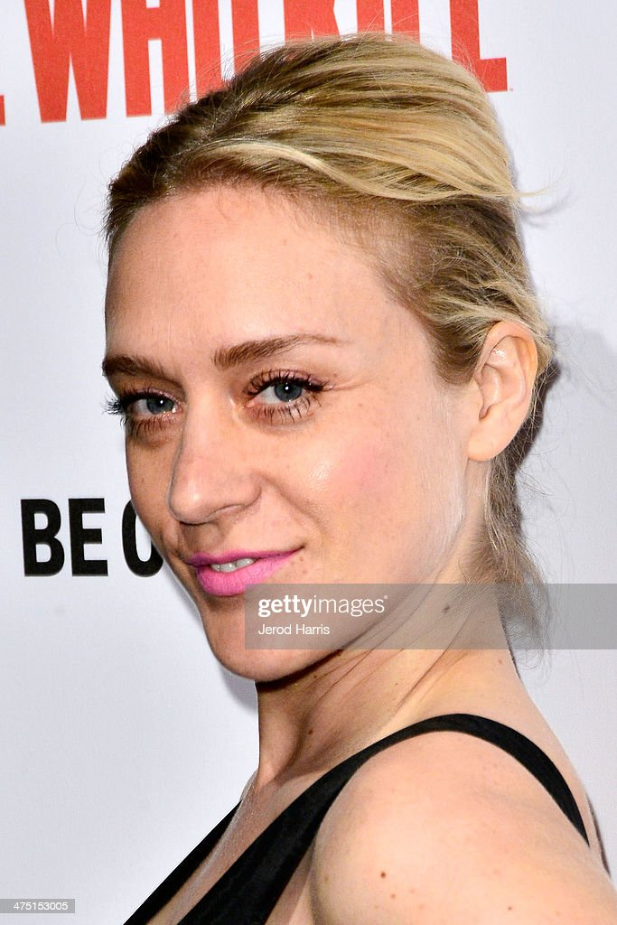 Actress Chloe Sevigny attends the premiere party for A&E's Season 2 Of 'Bates Motel' & series premiere of 'Those Who Kill' at Warwick on February 26, 2014 in Hollywood, California.
