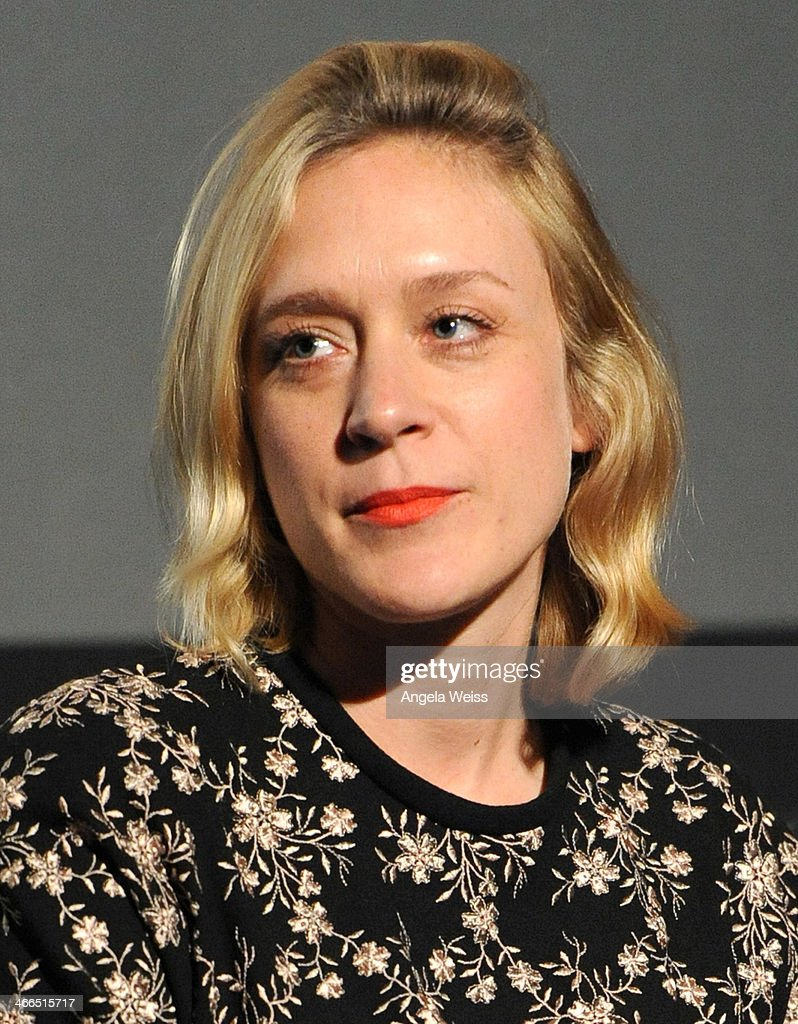 Actress <a gi-track='captionPersonalityLinkClicked' href=/galleries/search?phrase=Chloe+Sevigny&family=editorial&specificpeople=201550 ng-click='$event.stopPropagation()'>Chloe Sevigny</a> attends the screening and Q&A of 'The Wait' at Downtown Independent Theater on February 1, 2014 in Los Angeles, California.