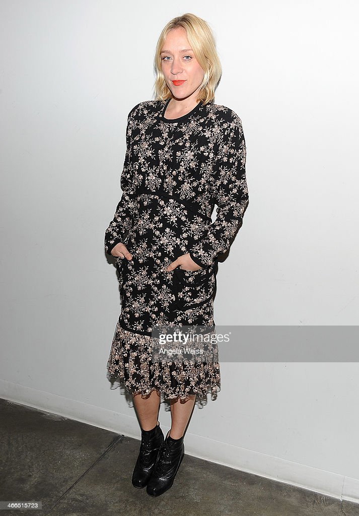 Actress <a gi-track='captionPersonalityLinkClicked' href=/galleries/search?phrase=Chloe+Sevigny&family=editorial&specificpeople=201550 ng-click='$event.stopPropagation()'>Chloe Sevigny</a> attends the screening of 'The Wait' at Downtown Independent Theater on February 1, 2014 in Los Angeles, California.