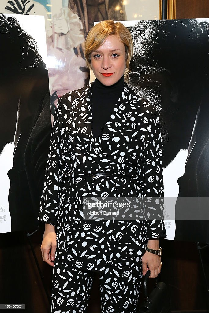Actress Chloe Sevigny attends the special screening of Steven Spielberg's Lincoln at the Ziegfeld Theatre on November 14, 2012 in New York City.