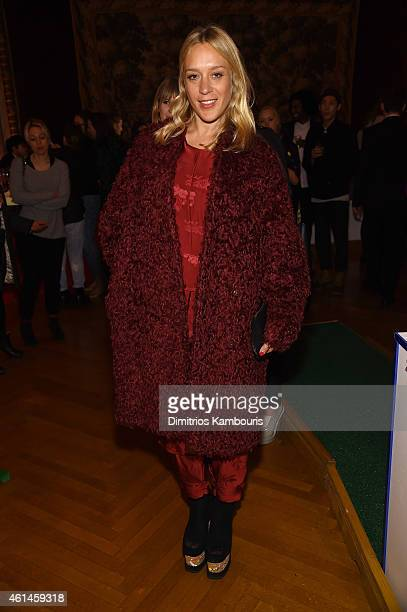 Actress Chloe Sevigny attends the Stella McCartney Autumn 2015 presentation on January 12 2015 in New York City