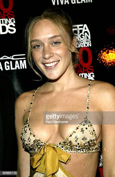 Actress Chloe Sevigny attends the VIVA GLAM Casino to Benefit DIFFA on June 24 2004 at Copacabana in New York City