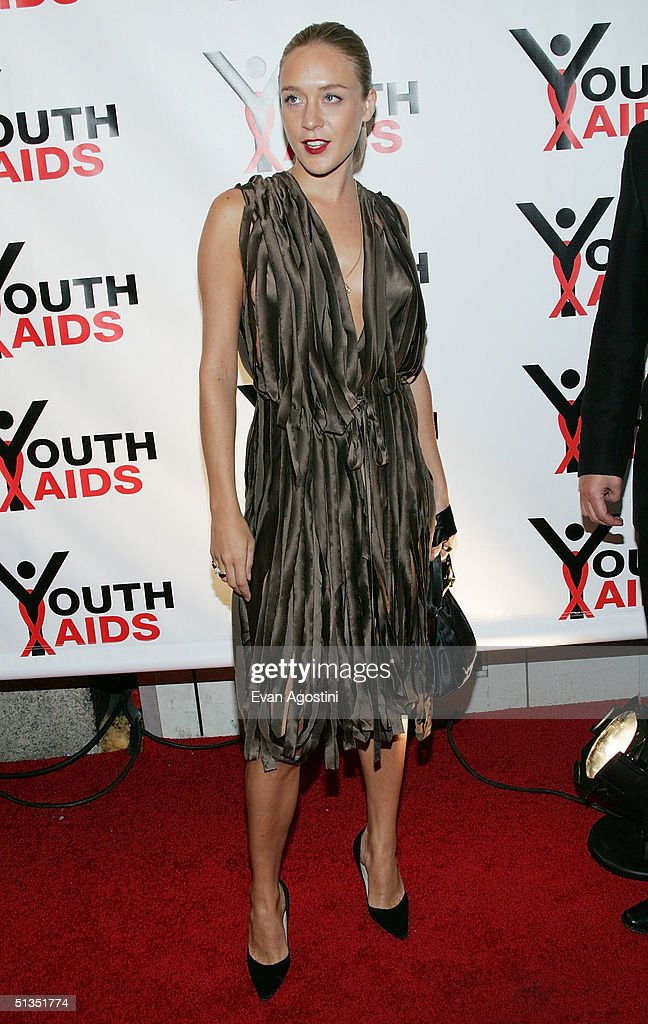 Actress Chloe Sevigny attends the YouthAIDS benefit gala at Capitale September 23, 2004 in New York City.