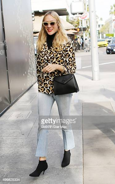 Actress Chloe Sevigny is seen on December 3 2015 in Los Angeles California
