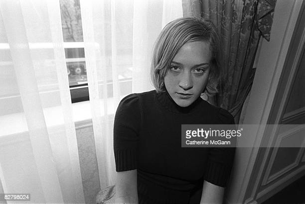 Actress Chloe Sevigny poses for a portrait on April 11 2000 in New York City New York