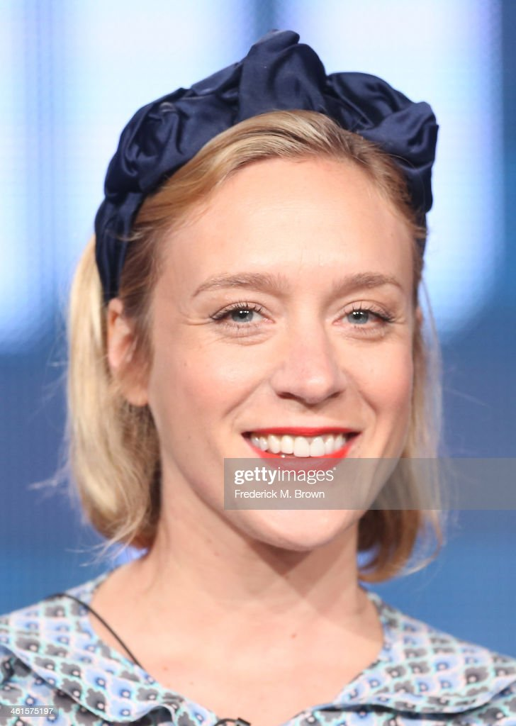 Actress Chloe Sevigny speaks onstage during the 'Lifetime - Those Who Kill' panel discussion at the Lifetime/A&E Network' portion of the 2014 Winter Television Critics Association tour at the Langham Hotel on January 9, 2014 in Pasadena, California.