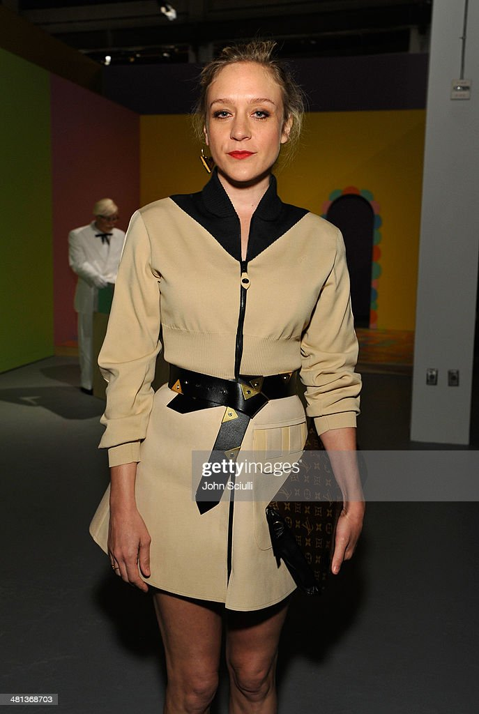 Actress <a gi-track='captionPersonalityLinkClicked' href=/galleries/search?phrase=Chloe+Sevigny&family=editorial&specificpeople=201550 ng-click='$event.stopPropagation()'>Chloe Sevigny</a>, wearing Louis Vuitton, attends MOCA's 35th Anniversary Gala presented by Louis Vuitton at The Geffen Contemporary at MOCA on March 29, 2014 in Los Angeles, California.