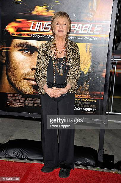 Actress Chloris Leachman arrives at the premiere of 'Unstoppable' held at the Regency Village Theater in Westwood