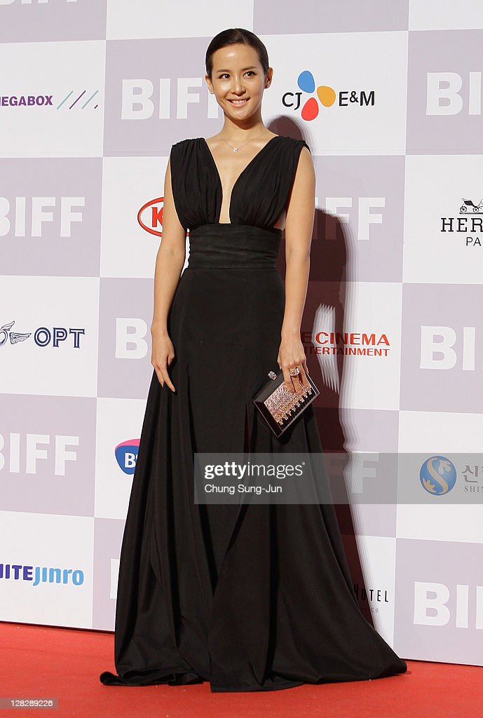 Actress Cho Yeo-Jung arrives for the opening ceremony of the 16th Busan International Film Festival (BIFF) at the Busan Cinema Center on October 6, 2011 in Busan, South Korea. The biggest film festival in Asia showcases 307 films from 70 countries and runs from October 6-14.